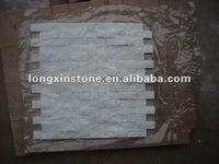 White Quartz Mosaic Pattern Stone