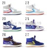 Free shipping Casual Shoes High Sneakers Men's/Women's Canvas Shoes Cheap Vulcanised Canvas Shoe