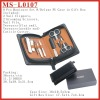 (MS-L0107) 8 Pcs Deluxe Manicure Set with PU Case in Gift Box