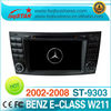 Car DVD for Benz CLS W219(2004-2011) (CLS350,CLS500,CLS550) with GPS navigation radio ipod bt tv canbus steering usb sd slot...