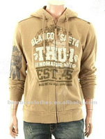 men's bamboo zip-up hoody