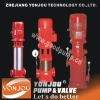 XBD type vertical fire pump