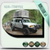 Square hard shell truck roof top tent