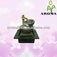 polyresin decoration for indoor fountain