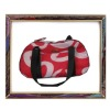 UW-PB-005 New arrival red fabric pet carrier bag,portable