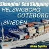 Shanghai/China to SWEDEN sea shipping/FCL/LCL, Shanghai/China to GOTEBORG, HELSINGBORG sea shipping/FCL/LCL