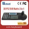 3-D CCTV controller