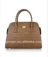 2012 fashion ladies leather name brand tote bags