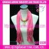 New trendy promotionl scarf fashion pendant scarf jewelry