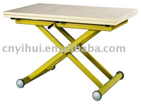 X Shaped Adjustable Folding Table