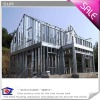 Steel Structure Fibercement board Prefabricated hosue