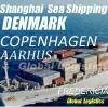 Shanghai/China to DENMARK sea shipping/FCL/LCL, Shanghai/China to AARHUS, COPENHAGEN, FREDERICI sea shipping/FCL/LCL