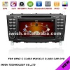 double dins 7inch iwish Android 4.0 car audio for Benz C Class W203 CLK W209