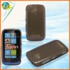 Smoke TPU Soft Case For Nokia Lumia 610 New Model Mobile Phone Protector Cover