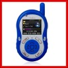 Blue interphone Walkie Talkie MP4 PLAYER GW-IP002