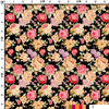 fashion multi color flowers sublimation heat transfer printing paper for garment fabrics