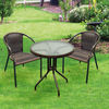 Wicker outdoor bar furniture set AY1613