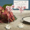 crystal place card holder for wedding