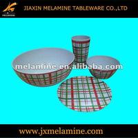 Melamine tableware for South America