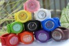 new type silcon slap watch for wholesale/The lastest big colorful garments silicone slap watch
