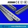 Galvanized steel strut channel