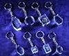 Fancy 3d laser crystal keychain
