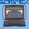 3 inch motorized car monitor with parking sensor, car camera, combined system