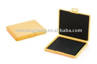 memory card case in solid injection color