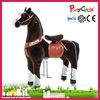 Pony Cycle Riding plush white horse