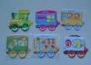 FRIDGE Magnet sticker HOT ! 2012 paper LETTER customized fridge magnet