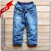 2012-2013 New Arrival Hot Sell Wooling Blue Color Denim Boys Jeans For Children