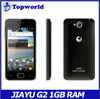 In stock Gorilla Glass original JIAYU G2 android smart phone 1GB+4GB MTK6575 4.0'' touch screen Android smart phone