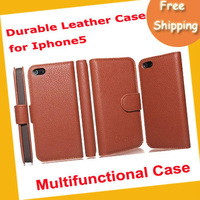 New arrival durable leather phone case .leather phone case