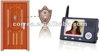 All digital wireless video door entry systems