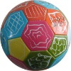 machine stitched official size PVC football