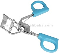 Plastic handle eyelash curler