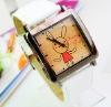 fashion square wrist watch for women