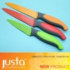3pcs color ceramic paint kitchen knife set