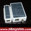 Cable Tester for UTP STP RJ45, BNC