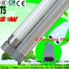 T5 fluorescent lamp with 2 pin cable plug 8W