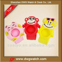New Silicone Animal Slap Watch For Kids