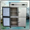 1200L Visible copper pipe Commercial upright fridge