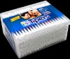 200pcs Cotton buds stick in square PP bottle pack/Personal care Swab cotton sticks