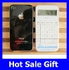 Hot-selling White Iphone Shaped calculator for Customized Logo as the Company Bussiness Advertising Present