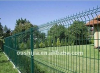 Pvc coated and galvanized wire mesh fences ISO9001