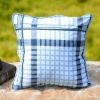 morden style stripe throw pillow