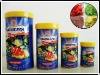 Marine fish flakes with bottle package