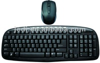The 2012 Fashionable 2.4G wireless keyboard and mouse combo