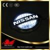 Nissan emblem led light 3D effect with laser
