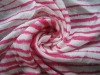 100% Rayon printed stripe single jersey